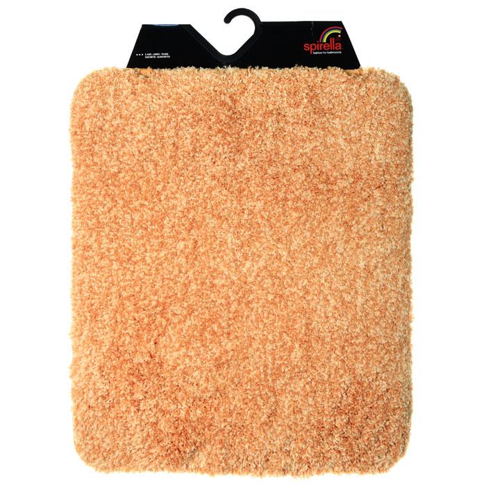 Коврик Gobi, цвет: оранжевый, 55 х 65 см1012530Коврик для ванной комнаты Gobi оранжевого цвета выполнен из полиэстера высокого качества. Прорезиненная основа коврика позволяет использовать его во влажных помещениях, предотвращает скольжение коврика по гладкой поверхности, а также обеспечивает надежную фиксацию ворса. Коврик добавит тепла и уюта в ваш дом. Характеристики: Материал: 100% полиэстер. Размер: 55 см х 65 см. Производитель: Швейцария. Изготовитель: Китай. Артикул: 1012530.