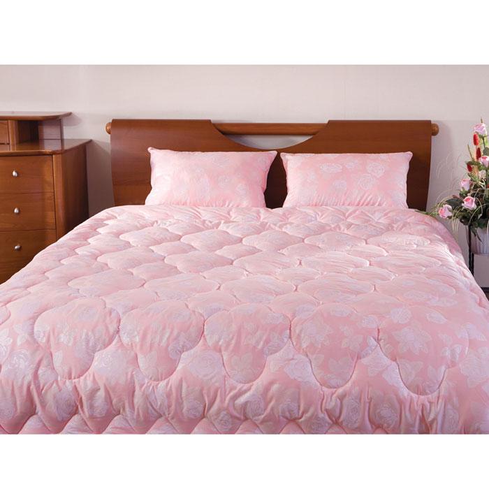 Одеяло Rosalia, 140 х 205 см121031102-РСЛегкое и нежное одеяло Rosalia с наполнителем экофайбер в элитном чехле из сатина c рисунком розы не оставит равнодушными тех, кто ценит красоту и комфорт. Экофайбер очень теплый, гипоаллергенный материал, не впитывает пыль и запахи. Благодаря ему изделия сохраняют форму и объем долгое время. Одеяло Rosalia согревает зимой и дарит прохладный сон летом. Простое в уходе, одеяло легко стирается в бытовой стиральной машине и быстро высыхает.