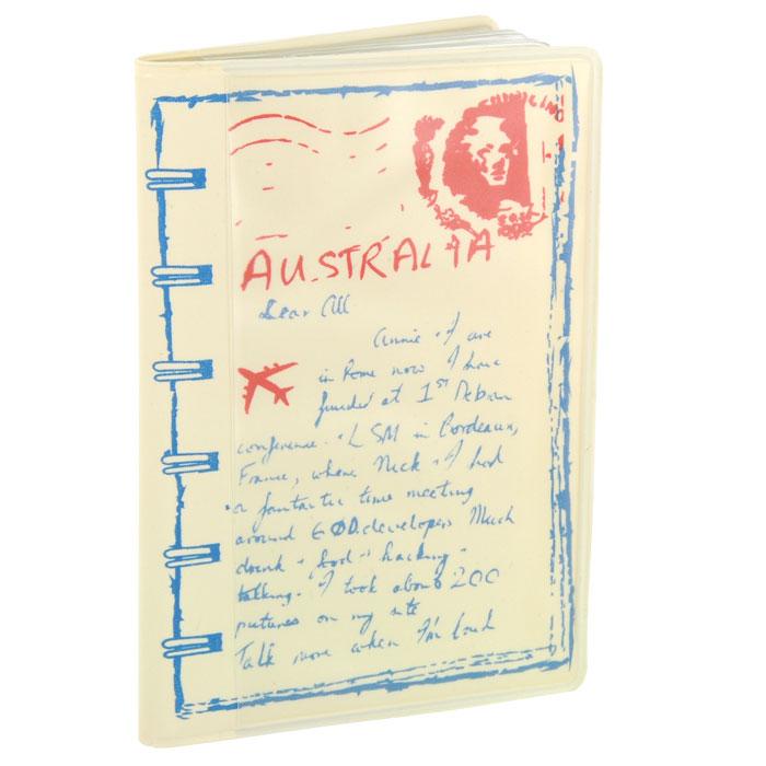 Кредитница Путешествия. Австралия0605013Стильная кредитница Путешествия. Австралия рассчитана на 8 карточек. Файлы из мягкого прозрачного пластика бережно сохранят ваши визитки и кредитные карты в одном месте. Обложка оформлена оригинальным изображением.