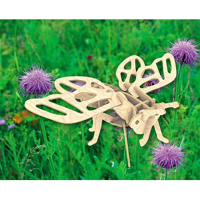 Сборная деревянная модель ЦикадаЕ016Сборная деревянная модель Цикада позволит вам и вашему ребенку собрать объемную деревянную конструкцию в виде цикады. Модель для сборки развивает мелкую моторику, интеллектуальные способности, воображение и конструктивное мышление, тренирует терпение и усидчивость. Модель выполнена из экологически чистой древесины.