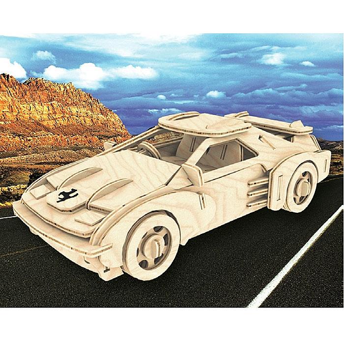 Сборная деревянная модель Феррари. П065АП065АСборная деревянная модель Феррари позволит вам и вашему ребенку собрать объемную деревянную конструкцию в виде автомобиля марки Ferrari. Модель для сборки развивает мелкую моторику, интеллектуальные способности, воображение и конструктивное мышление, тренирует терпение и усидчивость. Модель выполнена из экологически чистой древесины.