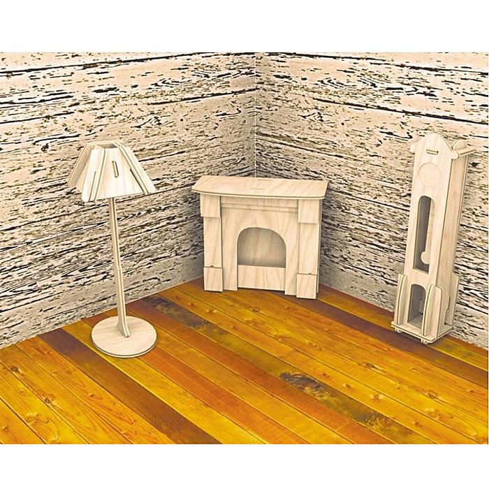 Сборная деревянная модель Часы и лампаП009Сборная деревянная модель Часы и лампа позволит вам и вашему ребенку собрать объемную деревянную конструкцию в виде напольных часов и лампы. Модель для сборки развивает мелкую моторику, интеллектуальные способности, воображение и конструктивное мышление, тренирует терпение и усидчивость. Модель выполнена из экологически чистой древесины.