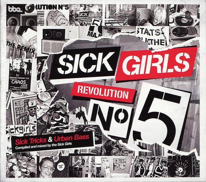 Sick Girls. Revolution N 5. Sick Tricks & Urban Bass (2 CD) 2011 2 Audio CD