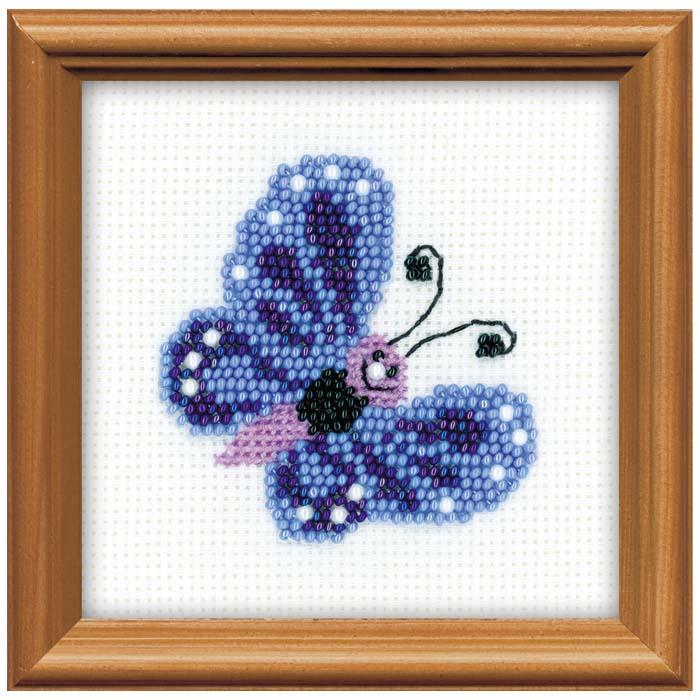 """Набор для вышивания """"Бабочка"""", 10 см х 10 см"""