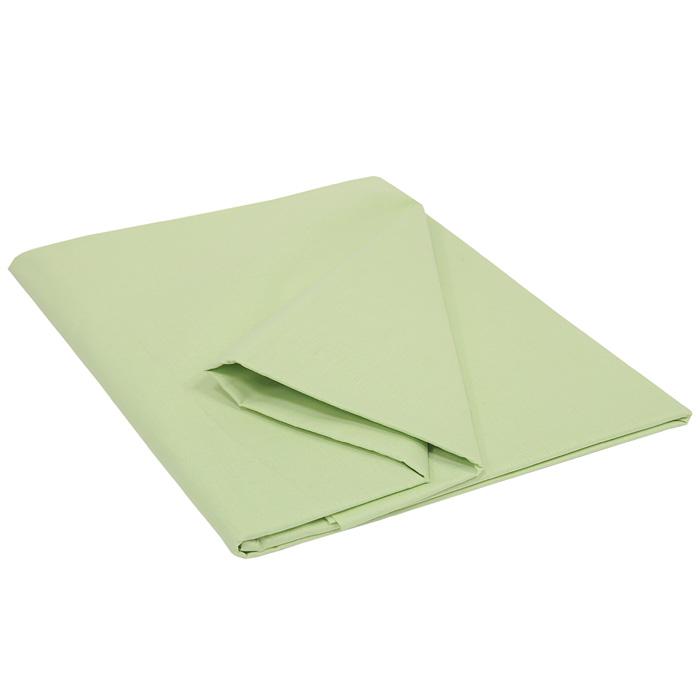 Простыня Style, цвет: зеленый, 150 см х 215 см114911501Простыня Style изготовлена из натурального хлопка Prima, и абсолютно безопасна даже для самых маленьких членов семьи. Она обладает высокой плотностью, необычайной мягкостью и шелковистостью. Простыня из такого хлопка выдержит большое количество стирок и не потеряет цвет. Выбрав простыню нужной вам расцветки, вы можете легко комбинировать ее с различным постельным бельем.