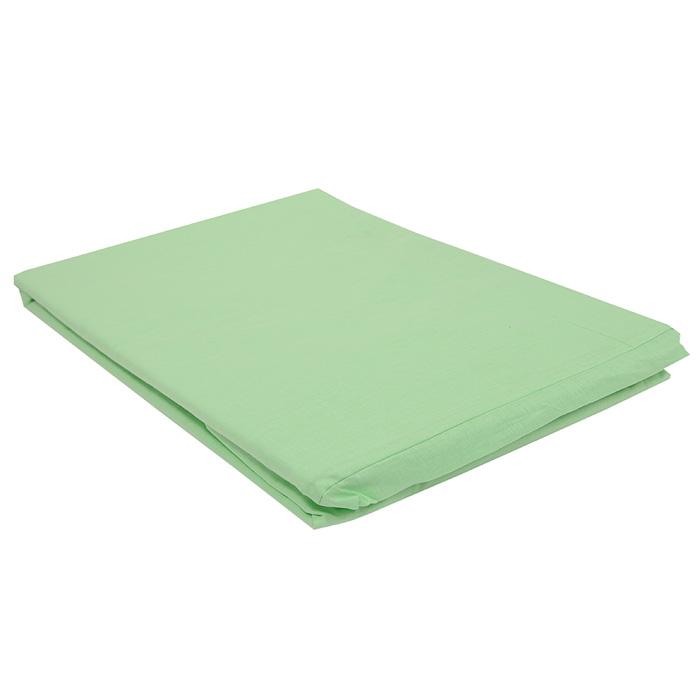 """Простыня на резинке """"Style"""", цвет: зеленый, 180 см х 200 см"""