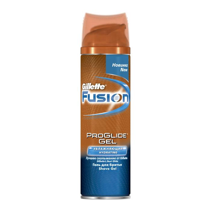 Гель для бритья Gillette Fusion ProGlide, увлажняющий, 200 млGIL-84855186Увлажняющий гель для бритья Gillette Fusion ProGlide содержащий масло карите и глицерин, помогает увлажнить и смягчить кожу во время бритья и предотвратить появление раздражения, обеспечивая комфортное и гладкое бритье.