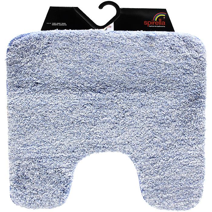 Коврик Gobi, цвет: светло-голубой, 55 х 55 см1012422Коврик для ванной комнаты Gobi светло-голубого цвета выполнен из полиэстера высокого качества. Прорезиненная основа коврика позволяет использовать его во влажных помещениях, предотвращает скольжение коврика по гладкой поверхности, а также обеспечивает надежную фиксацию ворса. Коврик добавит тепла и уюта в ваш дом. Характеристики: Материал: 100% полиэстер. Размер: 55 см х 55 см. Производитель: Швейцария. Изготовитель: Китай. Артикул: 1012422.