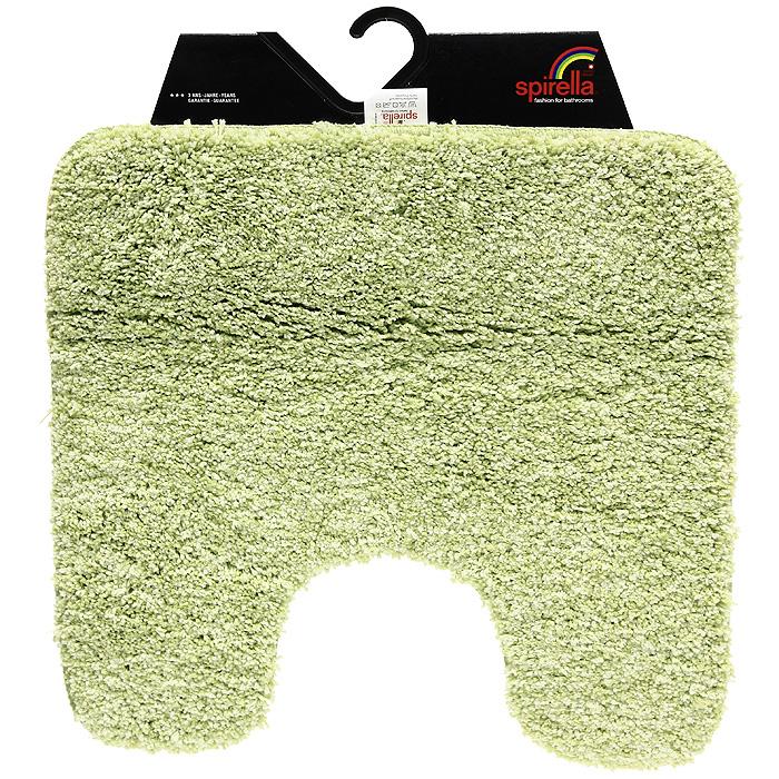 Коврик Gobi, цвет: зеленый чай, 55 х 55 см1012427Коврик для ванной комнаты Gobi цвета зеленого чая выполнен из полиэстера высокого качества. Прорезиненная основа коврика позволяет использовать его во влажных помещениях, предотвращает скольжение коврика по гладкой поверхности, а также обеспечивает надежную фиксацию ворса. Коврик добавит тепла и уюта в ваш дом. Характеристики: Материал: 100% полиэстер. Размер: 55 см х 55 см. Производитель: Швейцария. Изготовитель: Китай. Артикул: 1012427.