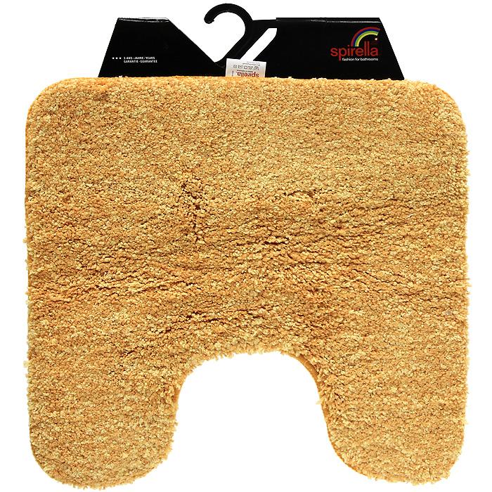 Коврик Gobi, цвет: оранжевый, 55 х 55 см1012529Коврик Gobi оранжевого цвета выполнен из полиэстера высокого качества. Прорезиненная основа коврика позволяет использовать его во влажных помещениях, предотвращает скольжение коврика по гладкой поверхности, а также обеспечивает надежную фиксацию ворса. Коврик добавит тепла и уюта в ваш дом. Характеристики: Материал: 100% полиэстер. Размер: 55 см х 55 см. Производитель: Швейцария. Изготовитель: Китай. Артикул: 1012529.