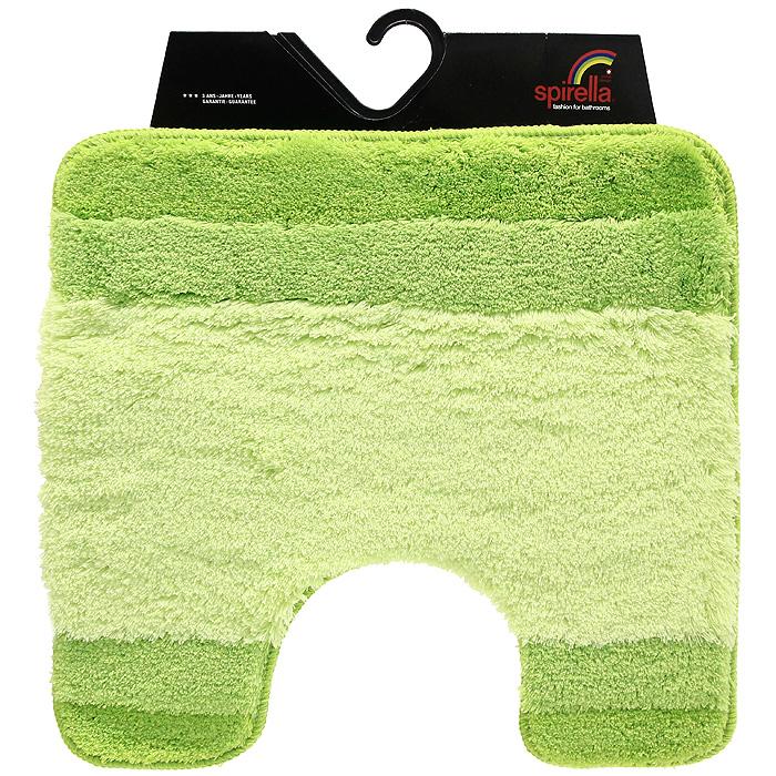 Коврик Balance, цвет: зеленый, 55 х 55 см1009229Коврик для ванной комнаты Balance выполнен из акрила высокого качества. Прорезиненная основа коврика позволяет использовать его во влажных помещениях, предотвращает скольжение коврика по гладкой поверхности, а также обеспечивает надежную фиксацию ворса. Коврик добавит тепла и уюта в ваш дом. Хорошо переносит машинную стирку и отжим в центрифугах, а также подходит для полов с подогревом.