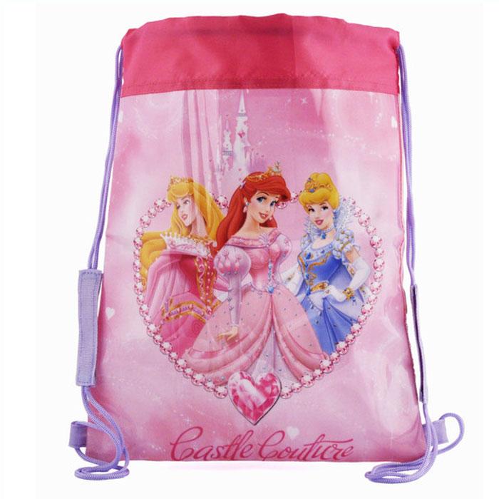 """Сумка для сменной обуви  """"Принцессы """", оформленная красочным изображением..."""