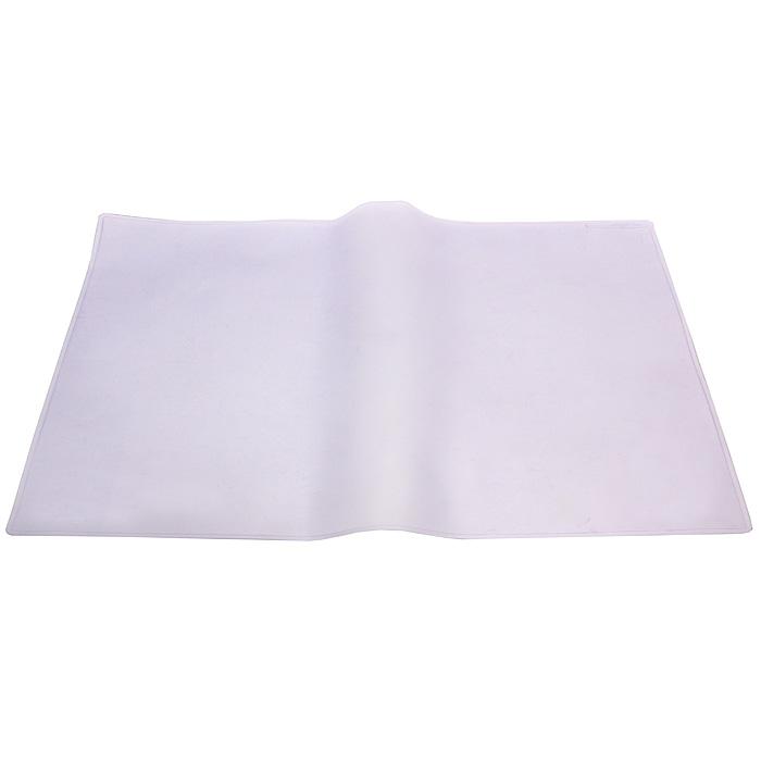 Настольная прозрачная подкладка-коврик для письма Durable7113-19Прозрачная настольная покрытие Durable прямоугольной формы с антибликовым покрытием удобна для письма, позволяет хранить на столе нужную информацию, защищает рабочую поверхность стола. Характеристики: Материал: пластик, поролон. Размер: 50 см х 65 см.