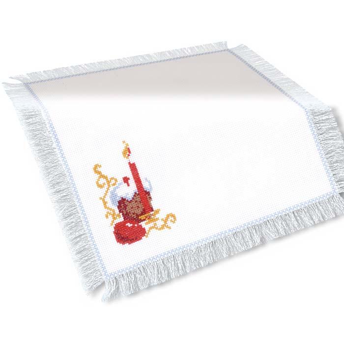 """Набор для вышивания """"Салфетка """"Пасхальный набор"""", 27 х 27 см ( 436 )"""