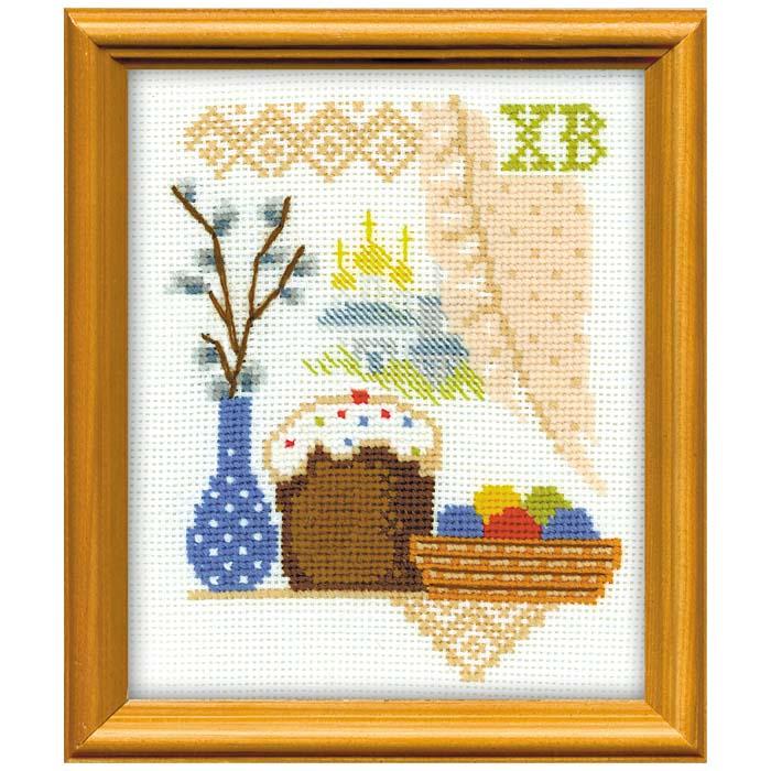 """Набор для вышивания """"Пасхальное утро"""", 13 х 16 см ( 962 )"""