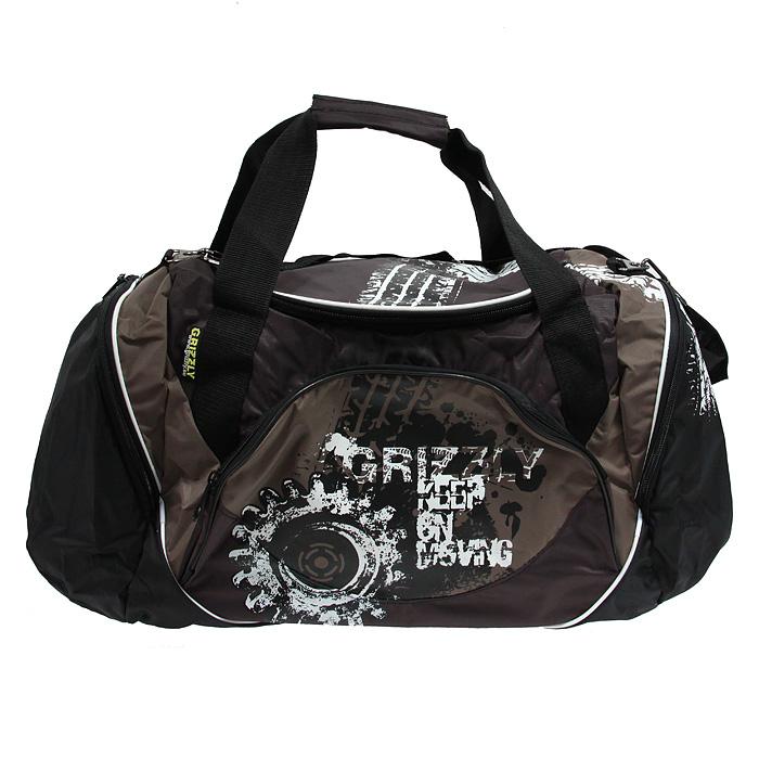 """Вместительная спортивная сумка  """"Grizzly """" выполнена из полиэстера..."""