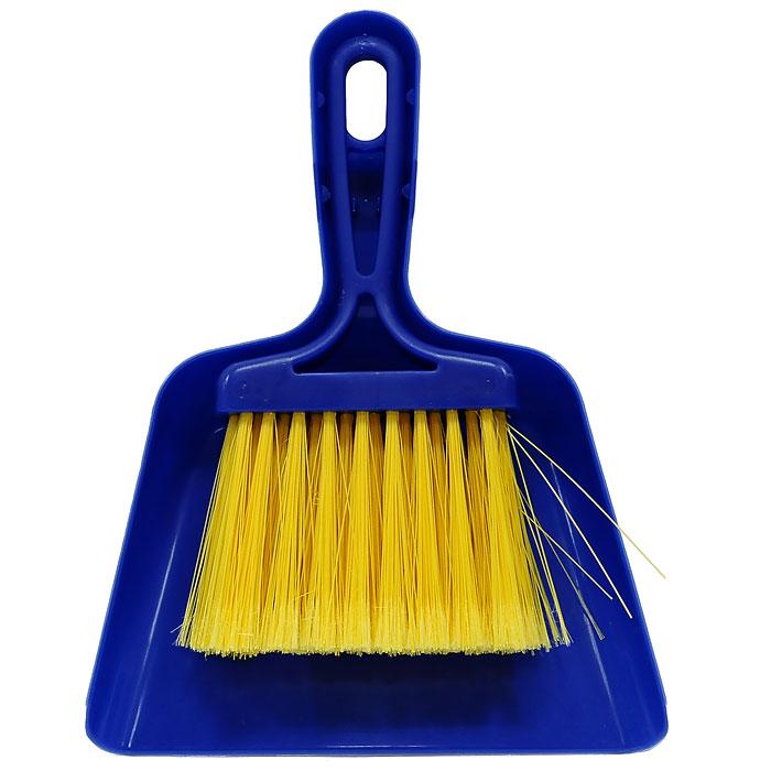 Совок Mini с щеткой, цвет: синий11701-AНабор Fratelli Mini включает щетку с синтетическим ворсом и совок, изготовленный из высококачественного пластика. Набор идеально подходит для уборки мелкого мусора с кухонных поверхностей. Для дополнительного удобства совок и щетка снабжены специальной петелькой, с помощью которой, вложив щетку в совок, их можно разместить в любом месте. Размер совка с ручкой: 24 см х 18 см х 3,5 см. Размер щетки: 20 см х 11,5 см х 2,5 см.