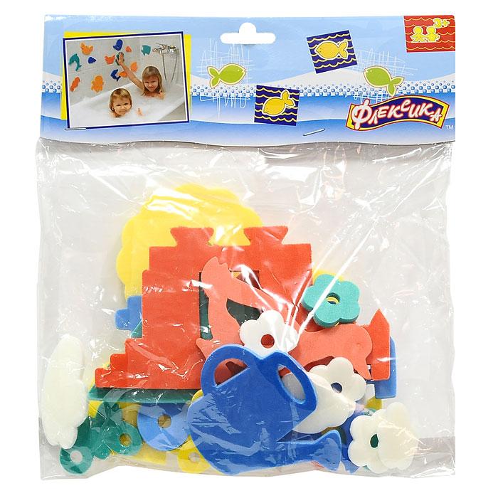 Мягкая мозаика Деревня55395Мягкая мозаика Деревня состоит из мягких разноцветных элементов, выполненных из современного, легкого, эластичного материала, который обеспечивает большую долговечность и является абсолютно безопасным для детей. Благодаря особой структуре материала и свойству прилипать к мокрой поверхности, мозаика является идеальной игрушкой для ванны и сделает процесс купания приятной забавой для ребенка. Мозаика способствует развитию у ребенка мелкой моторики, образного и логического мышления и наблюдательности.