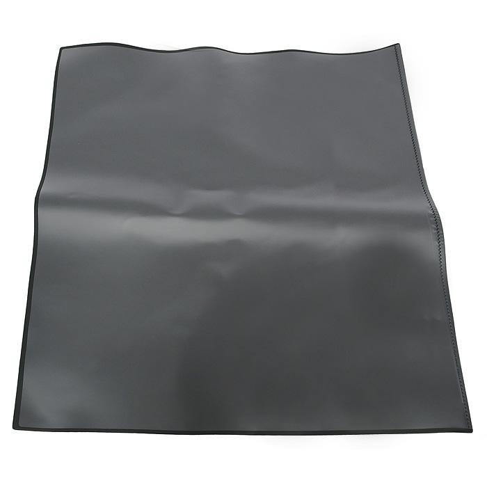 Настольная подкладка-коврик для письма Durable, цвет: черный7203-01Настольное покрытие Artwork прямоугольной формы с поднимающейся прозрачной верхней пленкой не только защищает рабочую поверхность стола, но и предоставляет дополнительную возможность хранить нужную информацию - заметки, номера телефонов. Выполнено из высококачественного пластика и имеет тонкую поролоновую подложку, которая не позволяет подкладке-коврику скользить по поверхности стола. Характеристики: Материал: пластик, поролон. Размер: 50 см х 70 см.