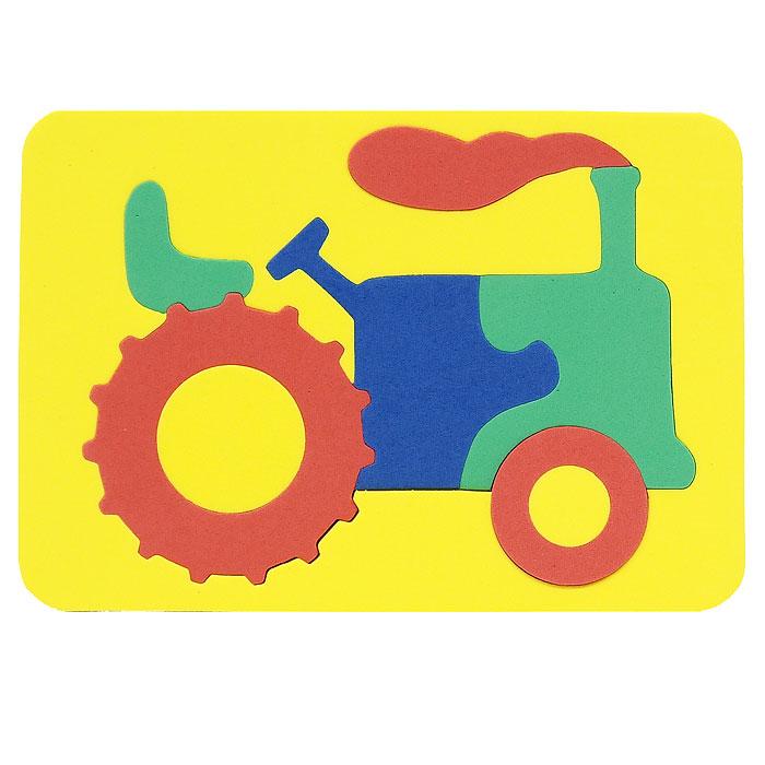 Бомик Пазл для малышей Трактор