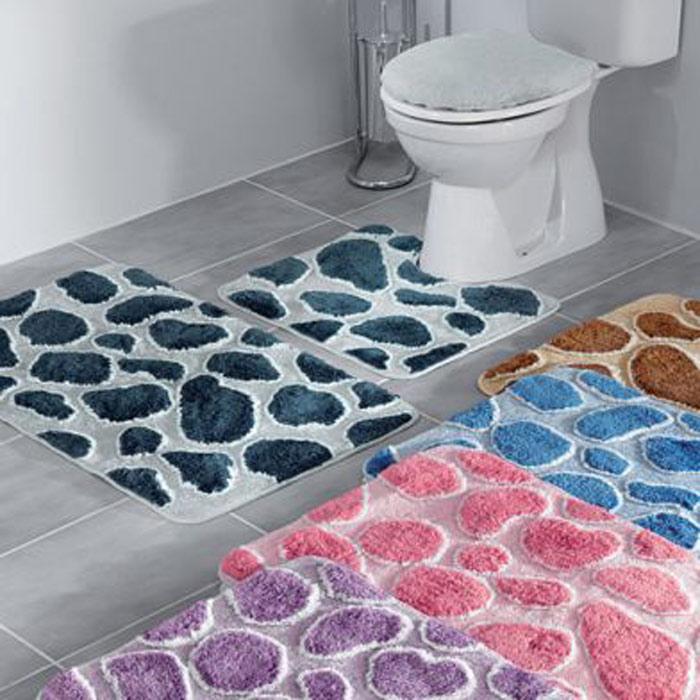 """Набор ковриков  """"Safari """" состоит из коврика для ванной комнаты, туалета и..."""
