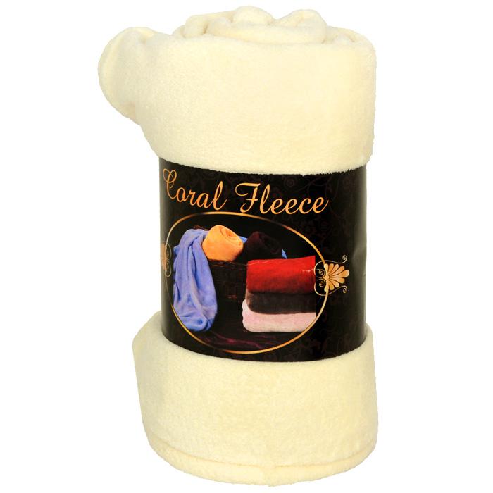 Плед флисовый Coral Fleece, цвет: белый, 220 см х 200 смРК-200-220Приятный на ощупь плед Coral Fleece, выполненный из микроволокна, добавит комнате уюта и согреет в прохладные дни. Он имеет две одинаковые стороны. Удобный, большой размер этого очаровательного пледа позволит вам использовать его и как одеяло, и как покрывало для кресла или софы. Плед сохраняет все свои свойства после многократных стирок. Такое теплое украшение может стать отличным подарком друзьям и близким!