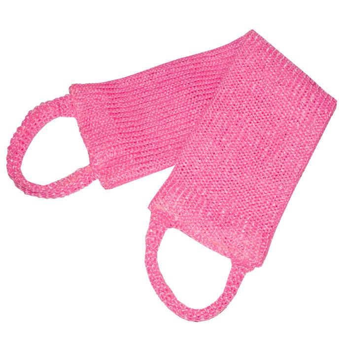 Мочалка массажная Eva Макси, цвет: розовый, 70 см х 11 смМ362Антибактериальная массажная мочалка Eva Макси станет незаменимым аксессуаром ванной комнаты. Мочалка отлично пенится и быстро сохнет. Благодаря такой мочалке кожа становится чистой, упругой и свежей. Идеальна для профилактики и борьбы с целлюлитом.