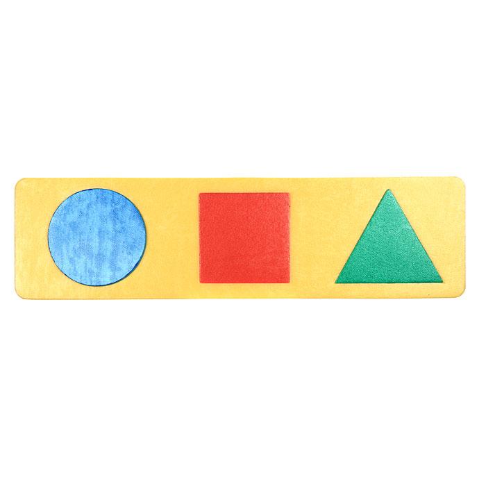 Мягкая мозаика Флексика55311Мягкая мозаика Флексика выполнена в виде яркой рамки, на которой расположены три разноцветные геометрические фигуры: треугольник, квадрат, круг. Мозаика изготовлена из мягкого, прочного материала, который обеспечивает большую долговечность и является абсолютно безопасным для детей. Мягкая мозаика развивает у ребенка память, воображение, моторику, пространственное и логическое мышление, знакомит с простыми геометрическими фигурами, развивает цветовое восприятие. Обучение происходит прямо во время игры! Характеристики: Средний размер элемента: 5,5 см х 5,5 см х 0,5 см.