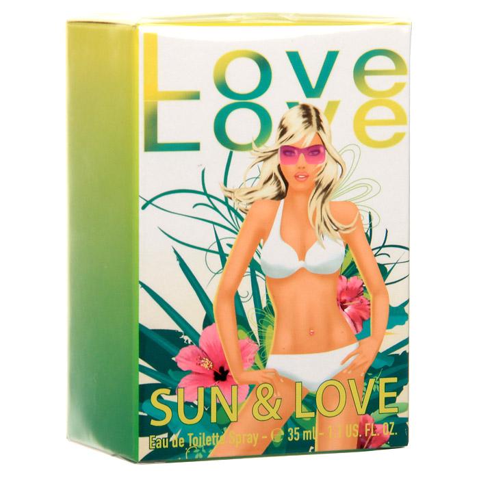 Love-Love Sun&love. Туалетная вода, 35 млLVL000003Love-Love Sun&Love - аромат, который будет сопровождать молодую леди повсюду во время ее летних каникул. Sun&Love - аромат для соблазнительной юной особы. Она сексуальна и влюблена, имеет солнечный, искристый характер. Классификация аромата: цитрусовый. Пирамида аромата: Верхние ноты: мандарин, груша, апельсин. Ноты сердца: роза, колокольчик, фрезия, цветы апельсина. Ноты шлейфа: сандал, мускус, кедр. Ключевые слова: Модный, сексуальный, веселый!