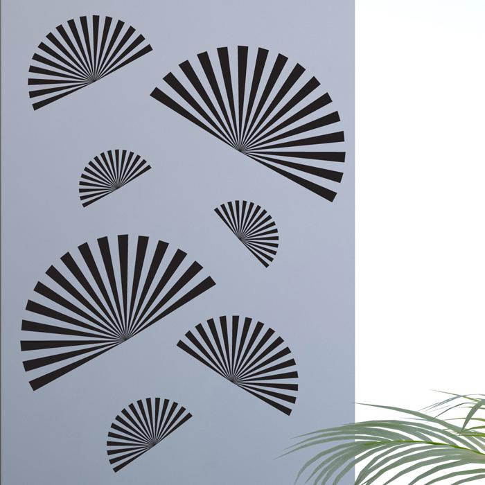 Стикер Paristic Веера, цвет: черный, 44 см х 30 смпро0360Стикер Paristic Веера - это уникальная возможность создать неповторимый индивидуальный облик интерьера вашего дома. Стикер с изображением, имитирующим веера, выполнен из матового винила - тонкого эластичного материала, который хорошо прилегает к любым гладким и чистым поверхностям, легко моется и держится до семи лет, при снятии не оставляет следов. Изображения можно разделить и, разместив их в разных местах, создать целую композицию. Такой оригинальный элемент декора придаст интерьеру креативность и новое игривое настроение и станет великолепным украшением, притягивающим заинтересованные взгляды окружающих. В комплекте со стикером предусмотрена подробная инструкция по наклеиванию (на русском языке). Характеристики: Материал: винил. Цвет: черный. Размер стикера (В х Ш): 44 см х 30 см. Размер упаковки: 48,5 см х 35 см. Производитель: Франция. Артикул: про0360. Paristic - это стикеры высокого качества. ...