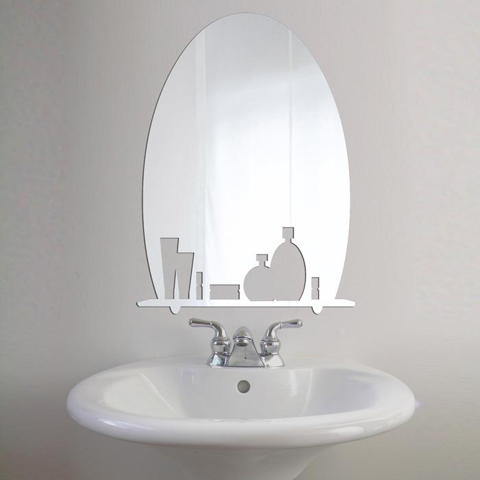 "Декоративное зеркало. Paris-Paris ""Доброе утро! "", 40 х 29 см"