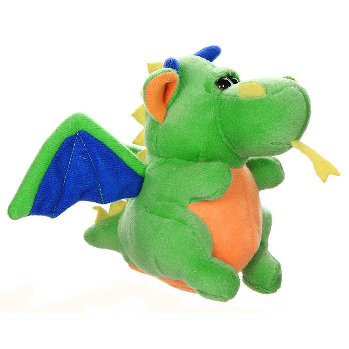 """Мягкая озвученная игрушка  """"Дракончик-мячик """" не оставит равнодушным ни ребенка..."""