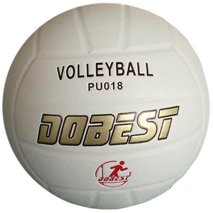 Мяч волейбольный Dobest. PU018PU018Мяч волейбольный Dobest, клееный.