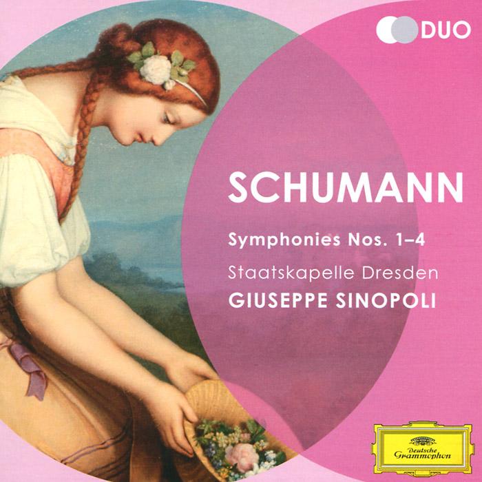 Giuseppe Sinopoli. Schumann. Symphonies Nos. 1-4 (2 CD)
