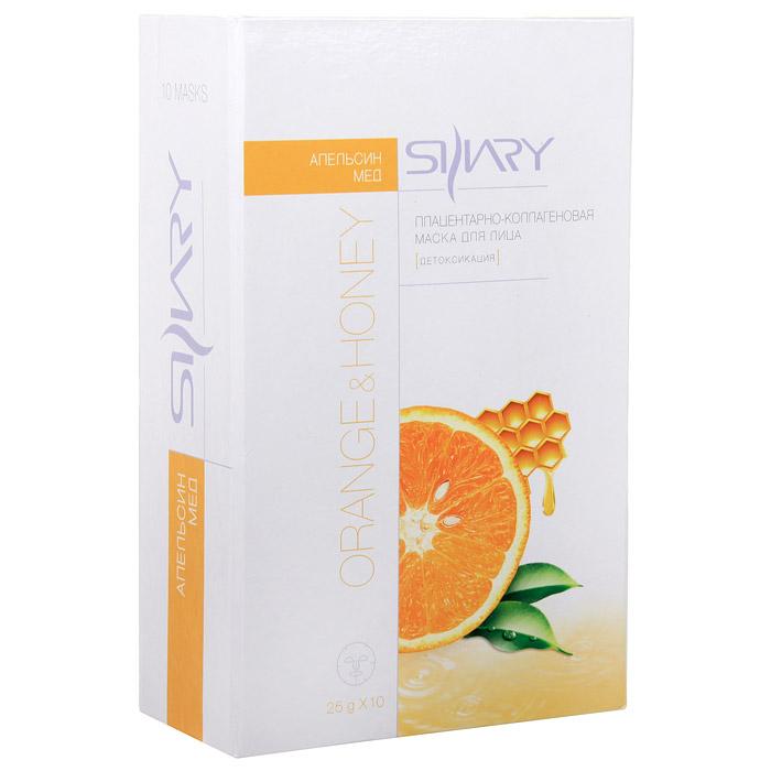 Набор масок плацентарно-коллагеновых Shary для лица с медом и апельсиновым маслом, 10 шт3310.EYEПлацентарно-коллагеновая маска возвращает коже жизненную силу, улучшает кислородный обмен клеток кожи. Благодаря эффективному восстанавливающему действию, маска интенсивно ухаживает за зрелой и уставшей кожей, разглаживая мелкие морщины и предотвращая возрастные процессы. После продолжительного употребления кожа выглядит моложе, становится более эластичной и упругой. Активные ингредиенты: Мед смягчает, восстанавливает эластичность, поддерживает кожу в хорошем состоянии, препятствуя преждевременному старению. Апельсиновое масло усиливает кровообращение, витаминизирует, выводит токсины из кожи. Экстракт плаценты овцы стимулирует восстановительные процессы, возвращая молодость коже. Коллаген - великолепный увлажнитель. Стимулирует обновление собственного коллагена, нормализует структуру кожи, делая ее более упругой и эластичной.