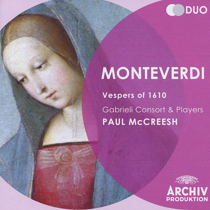 Paul McCreesh. Monteverdi. Vespers Of 1610 (2 CD)