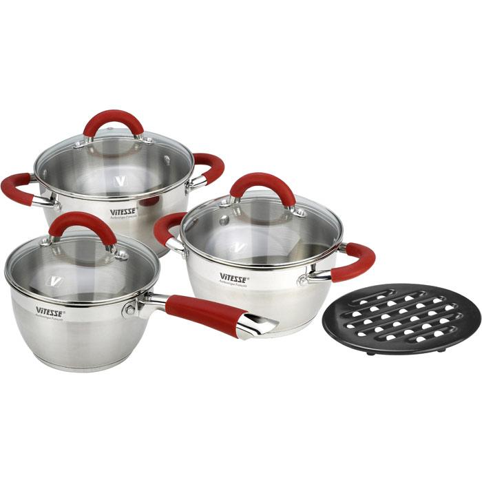 """Набор посуды """"Vitesse"""", 7 предметов"""