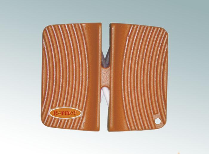 Ножеточка Borner двухсторонняя, цвет: оранжевый 3300156