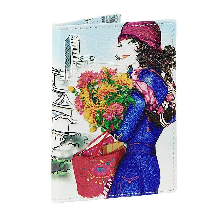 Визитница Perfecto Токио. VZ-GL-107VZ-GL-107Компактная вертикальная визитница Токио - стильная вещь для хранения визиток. Обложка визитницы выполнена из натуральной кожи и оформлена оригинальным рисунком. Визитница предназначена для хранения 18 визиток.