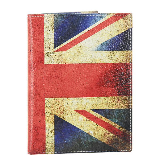 Визитница Perfecto UK. VZ-PR-0014VZ-PR-0014Компактная вертикальная визитница UK - стильная вещь для хранения визиток. Обложка визитницы выполнена из натуральной кожи и оформлена изображением флага Великобритании. Визитница предназначена для хранения 18 визиток.
