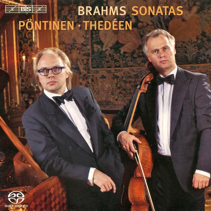 Torleif Thedeen. Roland Pontinen. Brahms. Cello Sonatas (SACD)