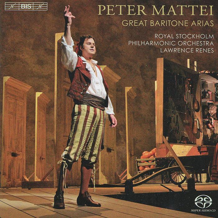 Zakazat.ru: Peter Mattei. Great Baritone Arias (SACD)