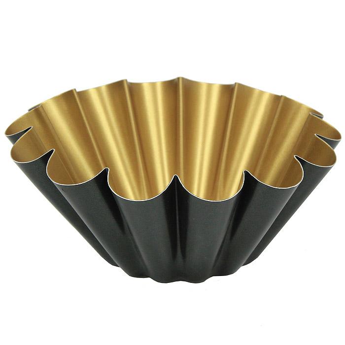 Форма для выпечки Gloria, диаметр 20 см656.10Форма для выпечки Gloria, изготовленная из алюминия, будет отличным выбором для всех любителей домашней выпечки. Особое высокотехнологичное антипригарное покрытие, не содержащее PFOA кислоты, препятствует пригоранию и обеспечивает легкую очистку после использования. С такой формой вы всегда сможете порадовать своих близких оригинальной выпечкой.