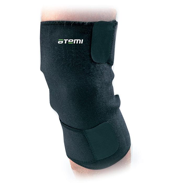Суппорт колена Atemi, закрытый, безразмерный. ANS-010ANS-010Суппорт Atemi эффективно поддерживает и стягивает колено. Удерживает тепло тела и способствует снятию болевых ощущений при ушибах и растяжениях. Удобно затягивается на липучку.