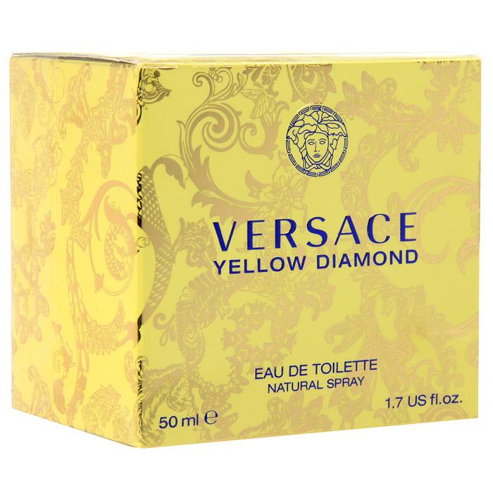 Versace Yellow Diamond. Туалетная вода, 50 мл520030Это роскошный аромат от Versace. Подобный солнечному свету, необыкновенно яркий, лучистый желтый сверкает так, как способен только настоящий бриллиант. Чистая чувственность, чистая прозрачность, чистый свет. Еще одна настоящая драгоценность редкой красоты раскрывается в свежем и ярком цветочном аромате; пленительный и волнующий аромат для истинной женственности, уверенной в своем шарме, гармонирует с безошибочно узнаваемым стилем Versace. Верхняя нота: Лимон из Диаманте, Бергамот, Грушевый сорбет, Нероли. Средняя нота: Белая водяная лилия, Фрезия, Цветы апельсина, Мимоза. Шлейф: Амбровое дерево, Древесина пало санто, Мускус. Цветочный фруктовый древесный. Подобный солнечному свету, необыкновенно яркий и лучистый, он сверкает так, как способен только настоящий бриллиант. Чистая чувственность, чистая прозрачность, чистый свет. Пленительный и волнующий аромат для истинной женщины, уверенной в своем шарме, гармонирует с безошибочно узнаваемым стилем Versace.