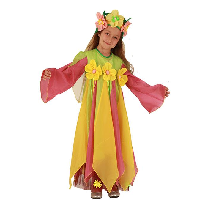 ЛЕТО Карнавальный костюм р. 110-122 платье, ободок книги, книжный...