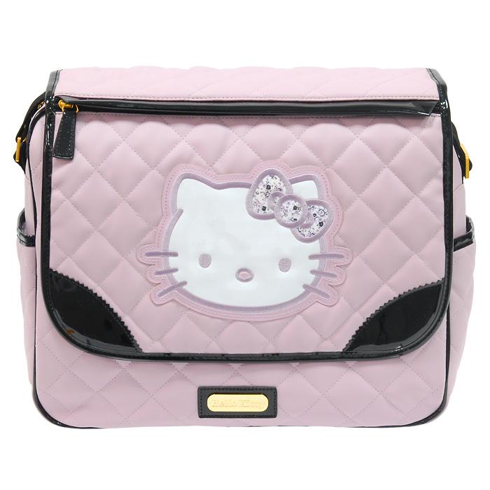 """Сумка  """"Hello Kitty """", изготовленная из искусственной кожи розового цвета..."""
