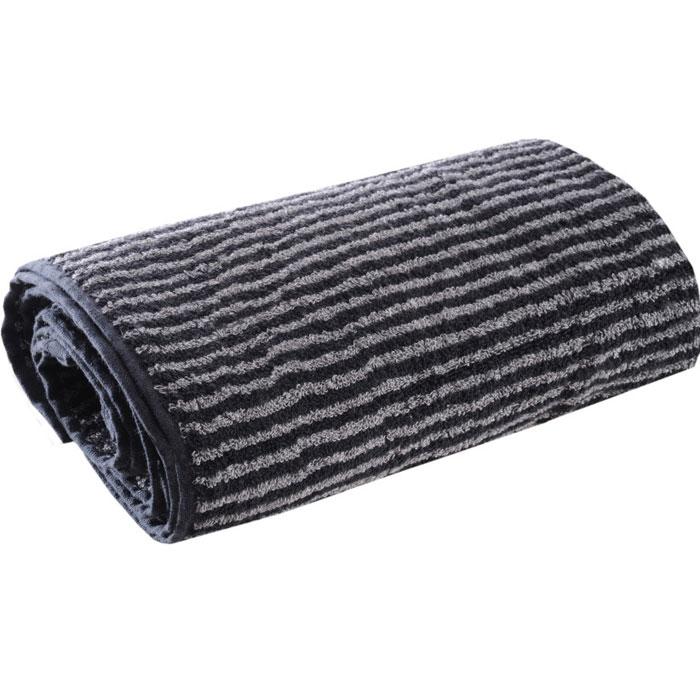 Полотенце махровое Ilta (Илта), цвет: черный, серый, 50 см х 100 см114Махровые полотенца коллекции Ilta (Илта), выполнены из натурального хлопка, деликатно ухаживают за кожей, хорошо поглощают влагу и дарят необыкновенную мягкость и комфорт. Этим полотенцам не страшна многократная стирка - они не теряют своей яркости и мягкости благодаря качественной махровой ткани.