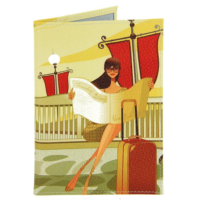"Обложка для паспорта Perfecto ""Путешествие. Париж"". PS-GL-0013 Компания Игра"