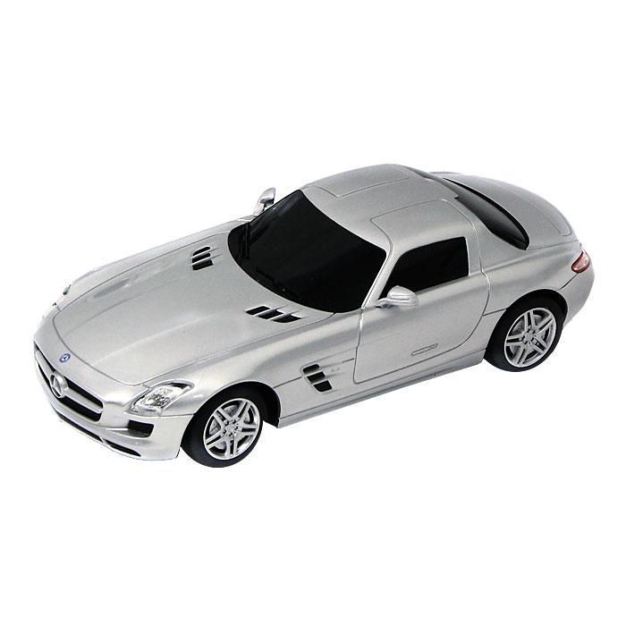 Модель автомобиля Mercedes SLS,. Масштаб 1/4358100Замечательная яркая машинка Mercedes SLS привлечет внимание вашего ребенка и не позволит ему скучать, ведь так интересно и захватывающе покатать свою машину или устроить гонку с другом. Машинка является точной уменьшенной копией настоящего автомобиля. Модель выполнена из металла с использованием пластика и поставляется в фирменной картонной коробке с прозрачным пластиковым окошком. Ваш ребенок часами будет играть с машинкой, придумывая различные истории и устраивая соревнования. Порадуйте его таким замечательным подарком! Характеристики: Материал: металл, пластик. Размер модели: 10 см х 2,5 см х 4,5 см. Размер упаковки: 15 см х 6,5 см x 5,5 см.